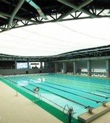 扬州体育公园游泳跳水馆工程