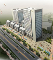 五亭龙商务广场建安工程